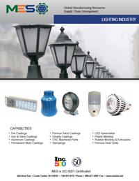 Lighting Industry Manufacturing